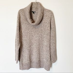 a.n.a   oversized cowl neck chunky knit sweater XL
